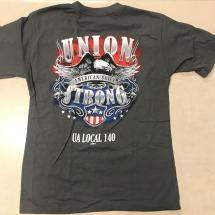 Union Strong Short Sleeve Tee 15.00 - Long sleeve 18.00-min