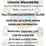 Union Organizing Leadership Class